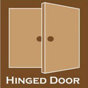 Hinged door selection
